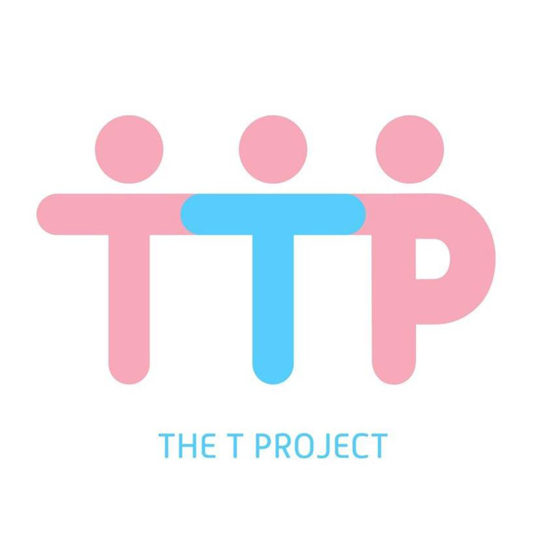 The t project logo