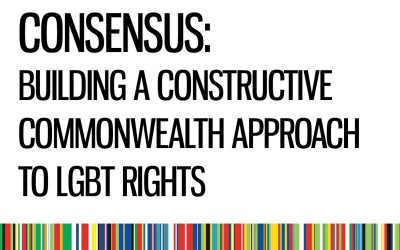 Collaboration and Consensus: Building a Constructive Commonwealth Approach to LGBT Rights