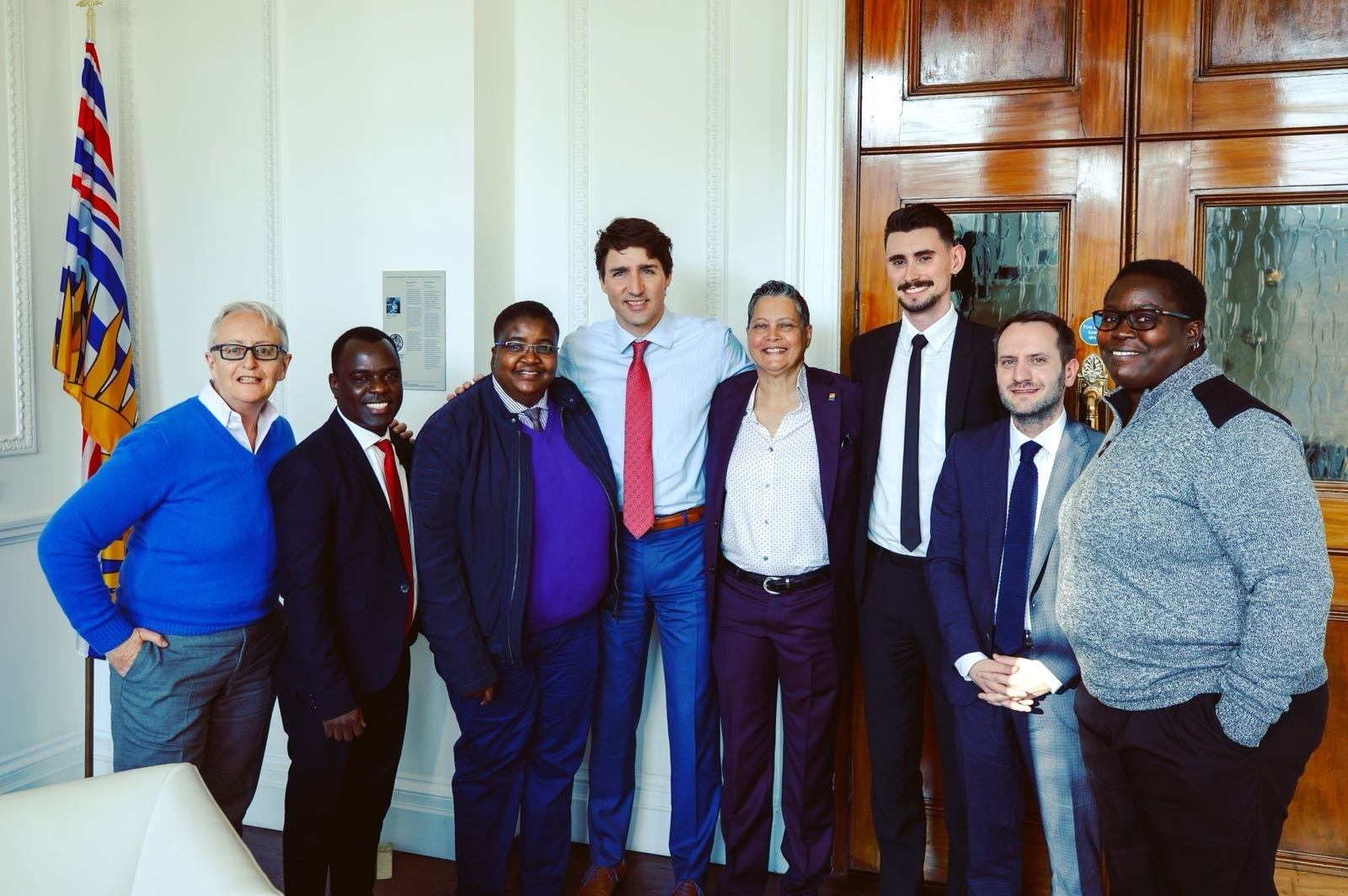 TCEN Member with Justin Trudeau
